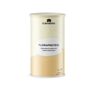 Vanille Eiweiß Floranutris 300x300 - Weshalb Proteinpulver und Eiweiß beim Abnehmen hilfreich sind