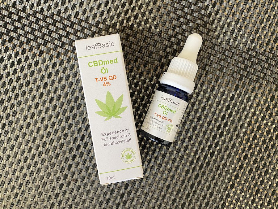 Leaf Basic 2 - CBD-Öl im Vergleich - Alles zum leafBasic CBDmed T-VS QD