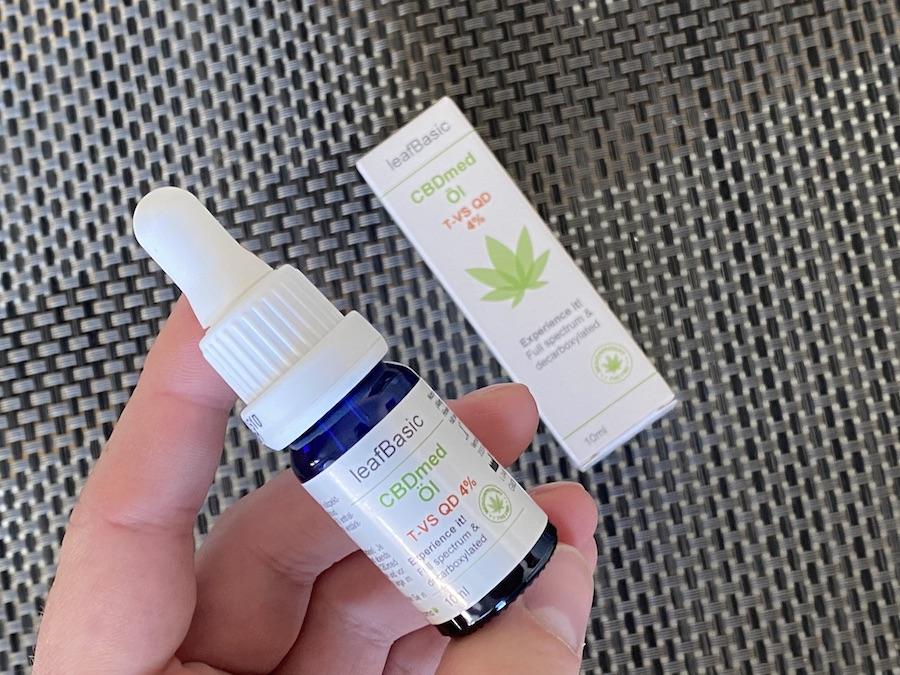 gesundeszentrum Leaf BasicLeaf Basic 2 - CBD-Öl im Vergleich - Alles zum leafBasic CBDmed T-VS QD
